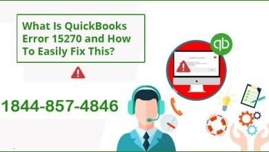 Photo of How to Fix QuickBooks Error 15270 – Payroll Update