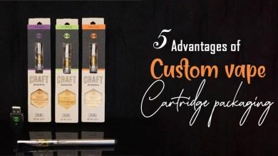 Photo of 5 Advantages of Custom Vape Cartridge Packaging