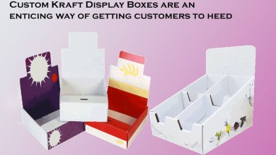 Photo of Custom printed Kraft display boxes are an enticing way of getting customers to heed