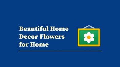 Photo of Beautiful Home Decor Flowers for Home