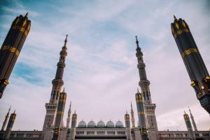 A mosque in Medina