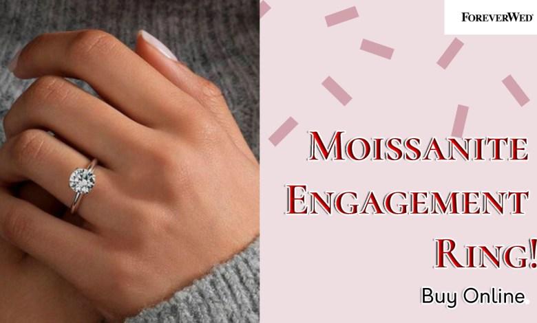 Moissanite Engagement Ring Online
