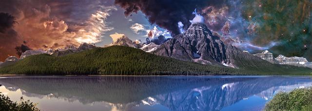 Canada landscape.