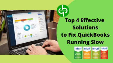 Photo of Top 4 Effective Solutions to Fix QuickBooks Running Slow