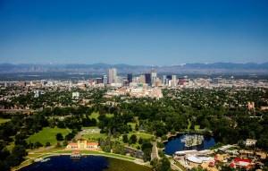 Denver city view.