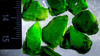 Photo of Chrome Diopside Welcome to the World of gemstones