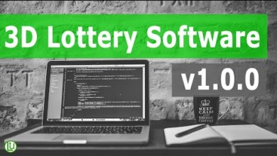 Photo of 3D Lottery software