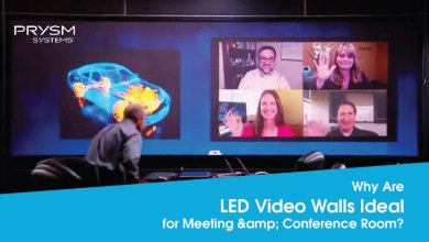 Photo of Why Are LED Video Walls Ideal for Meeting & Conference Room?