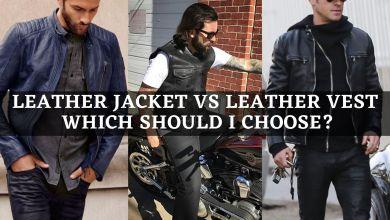 Photo of Leather Jacket vs Leather Vest