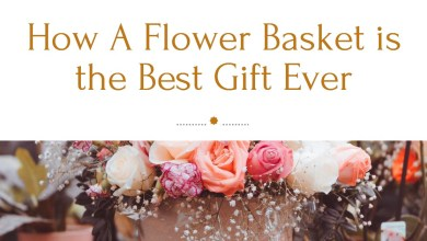 Photo of How A Flower Basket is the Best Gift Ever