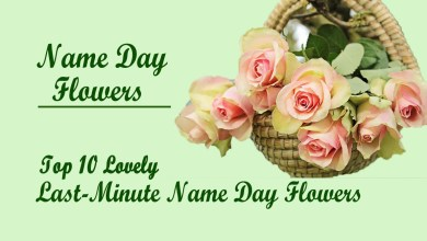 Photo of Top 10 Lovely Last-Minute Name Day Flowers