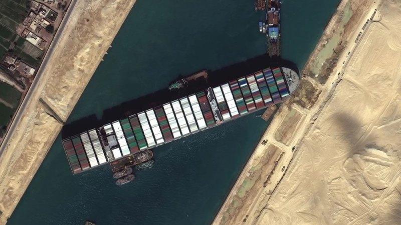 L'impatto del blocco del canale di Suez sui commerci internazionali
