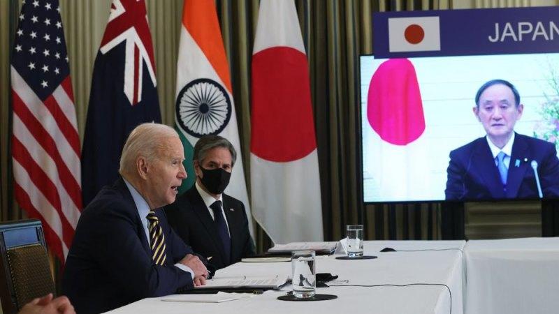 Biden ospita primo ministro giapponese Suga al vertice della Casa Bianca