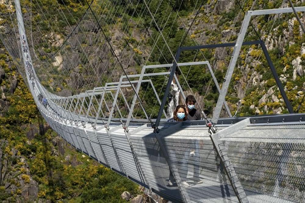 Portogallo: il nuovo ponte Arouca non è per i deboli di cuore