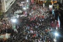 syriza comizio