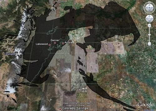 How big is the Deepwater Horizon Oil Spill?