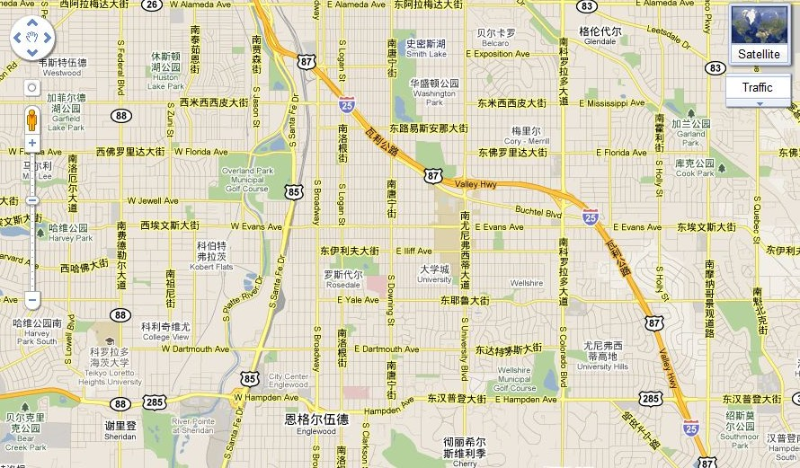 My Neighborhood According To Google Maps China - Artifacting