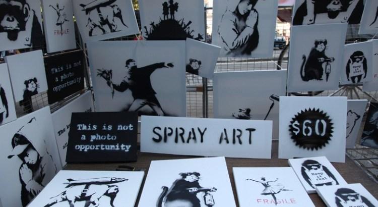 Banksy NYC Stall