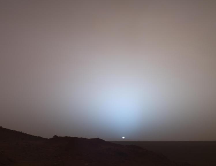 Martian Sunset