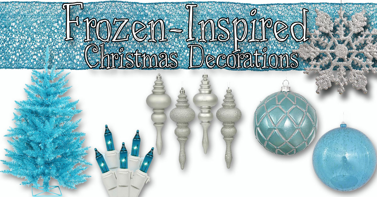 Frozen House Xmas Decorations