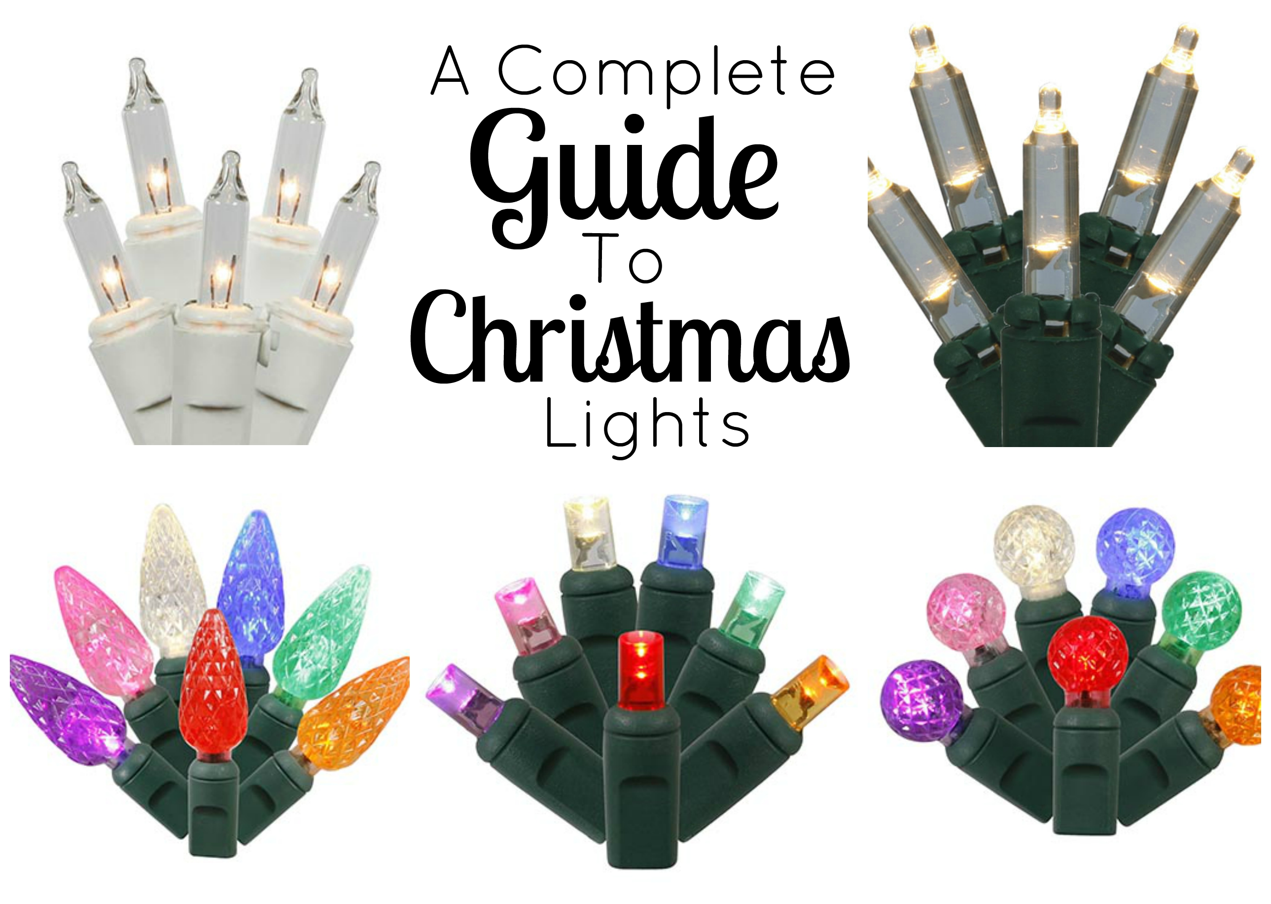Christmas Lights Types