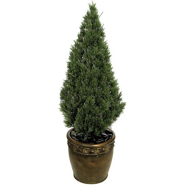 4 Foot Artificial Cedar Tree Potted A 84184