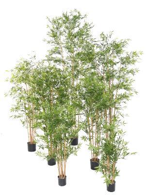 bambou artificiel japanese uv resistant interieur exterieur h 90 cm vert
