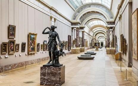 Artify - Vue du Louvre