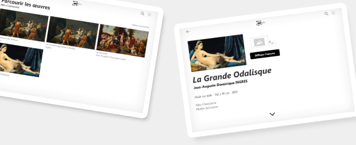 Artfiy - Examples présentation tablettes explicative