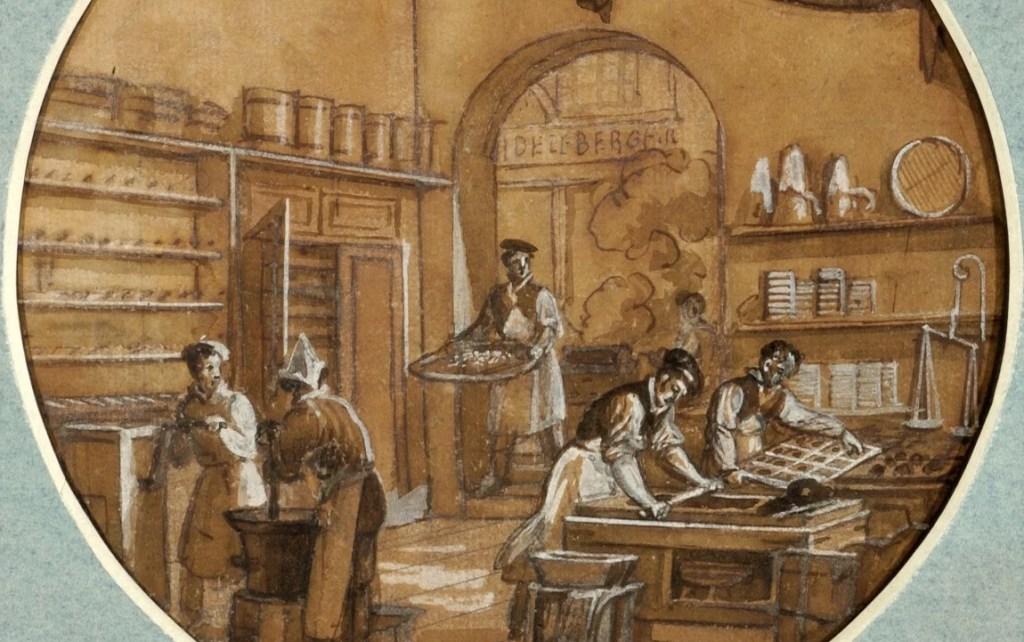 """Artify - Service des Arts industriels. Le Chocolatier """"Au fidèle Berger"""" de Jean-Charles Develly"""