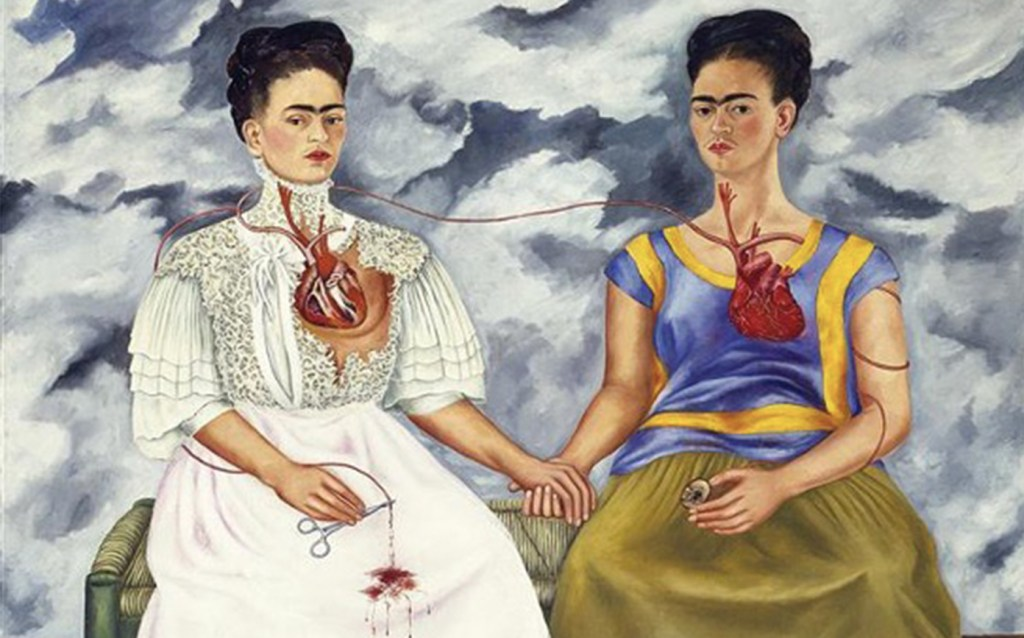 Artify - Oeuvre Les Deux Fridas de Frida Kahlo présentée lors de Arty Handi