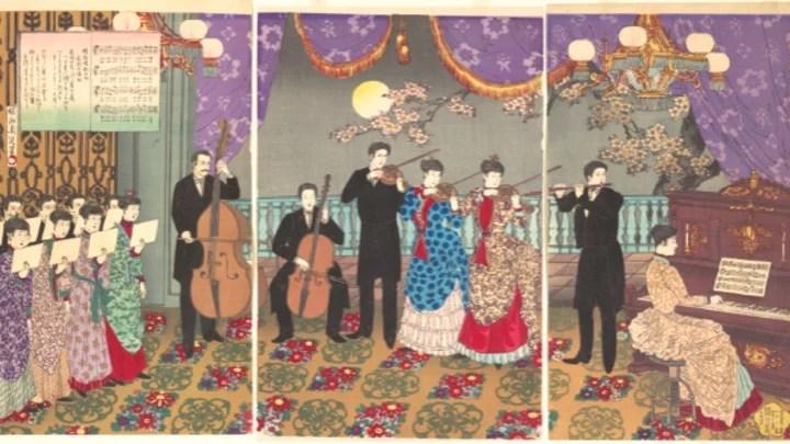 Artify - Oeuvre Concert de musique européenne de Toyohara Chikanobu, présentée lors de Art & Musique