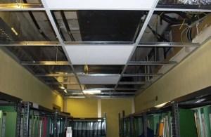 Manutenzione impianti di climatizzazione - controsoffitto