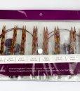 Ensemble d'aiguilles circulaires interchangeable Rainbow Wood de Knit Picks