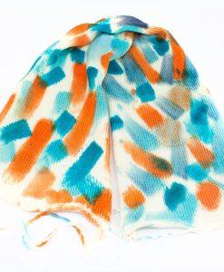 Laine teinte à la main tricoté - Fingering - Mérino - Nylon - Parcimonie