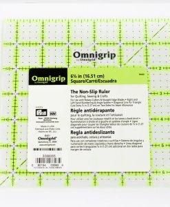 "Règle de coupe carré 6.5"" x 6.5"" Omnigrip / Omnigrip"