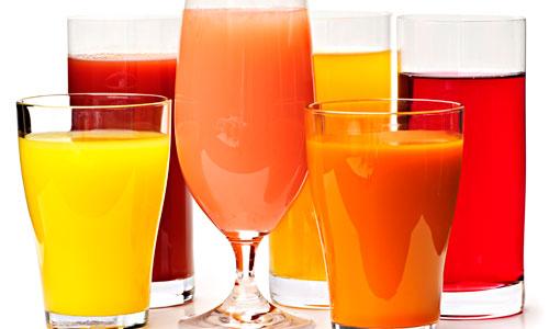 Suco de polpa de fruta congelada