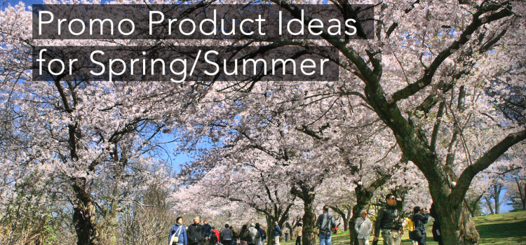 Promo Product Ideas for Spring/Summer in Toronto!