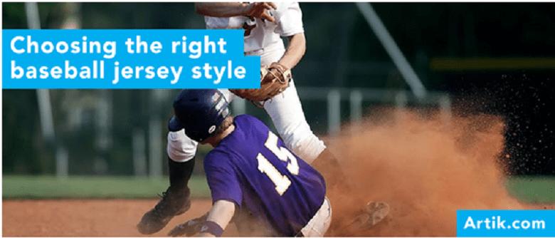 Choosing the Right Custom Printed Baseball Jerseys Style
