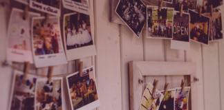 fotos aan de muur
