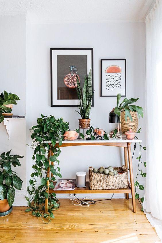 bitkilerle yaşam