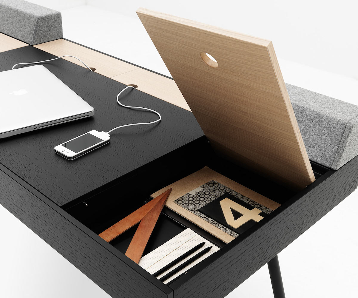 Yazı masalarına yer açın