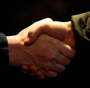 hands, handshake, trust, bond
