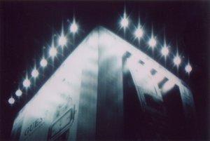 Roberto Cascone, Building Virus notturna (BV-N-101), anno 2002, 100x70 cm, stampa analogica su alluminio