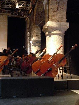 Venezia, Biennale Musica, Concerto della Radio-Sinfonieorchester Stuttgart, 12 ottobre 2012