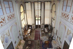 G. Biasin, decorazione della loggia ottocentesca, Ca' Conti