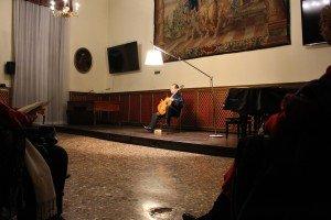 Il concerto per chitarra di Stefano Grondona all'Accademia dei Concordi di Rovigo, Gennaio 2015