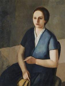 Virgilio Guidi,Ritratto femminile