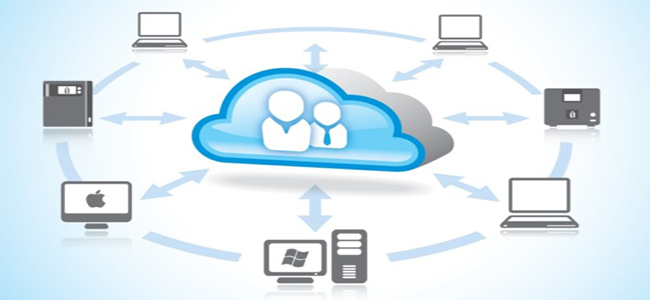 cloud and devices graphic
