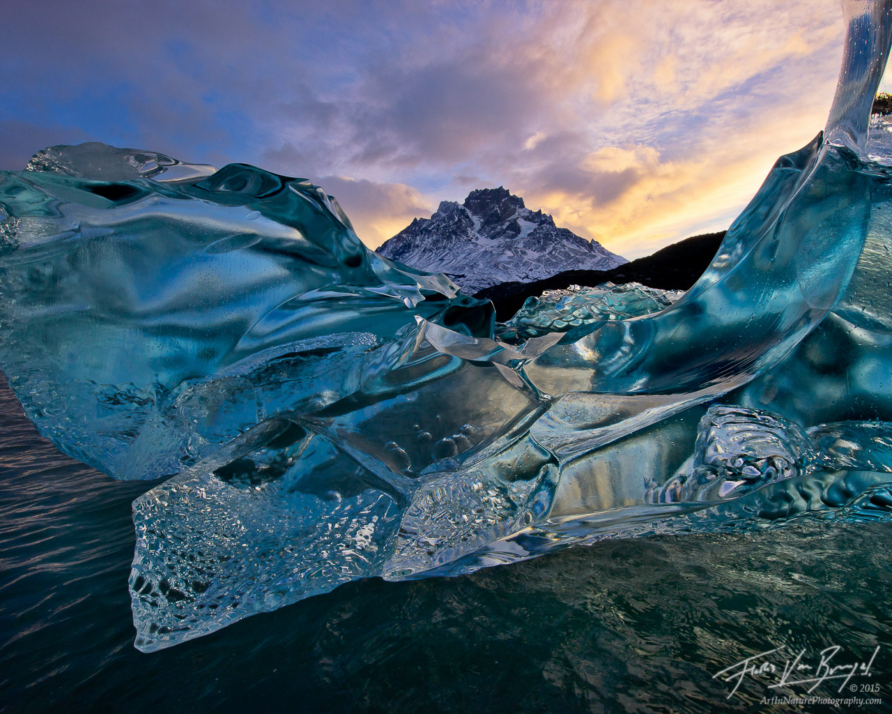 Ice Age Gemstones Torres Del Paine Chile Art In